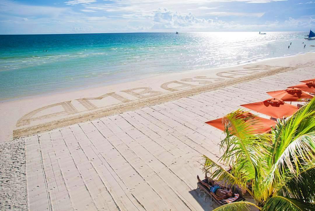 Beachfront of Ambassador in Paradise Boracay