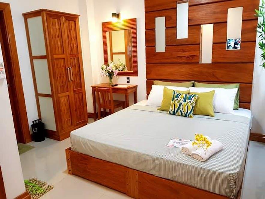 A suite in Modesta Hotel