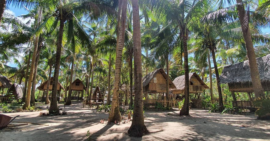 Lola Sayong Eco-SurFarm's cottages