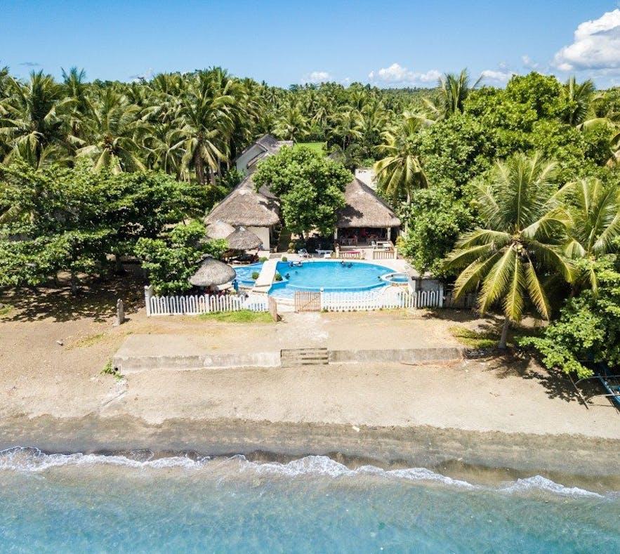 AGM Beachfront Resort and Resto's beachfront