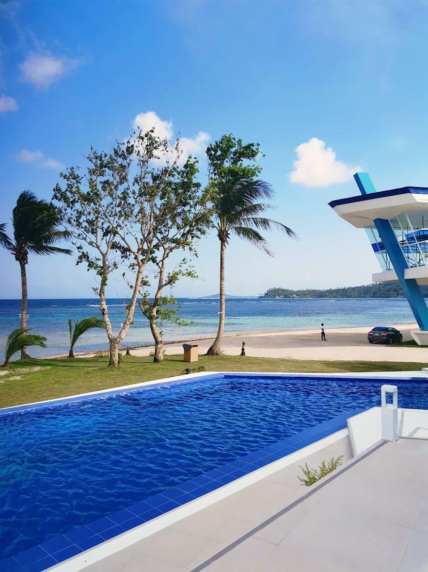 Residencia Del Hamor Beachfront's pool area