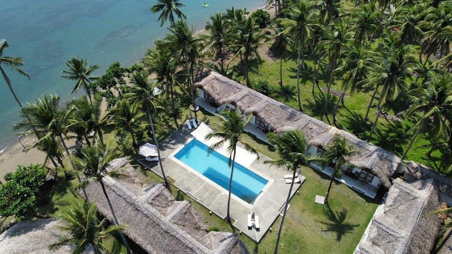 Aerial view of Elysia Beach Resort