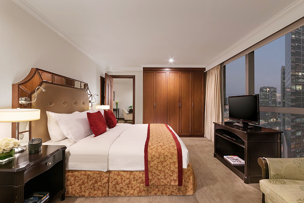 Your Master's Suite in your Two Bedroom Suite at Discovery Suites Ortigas