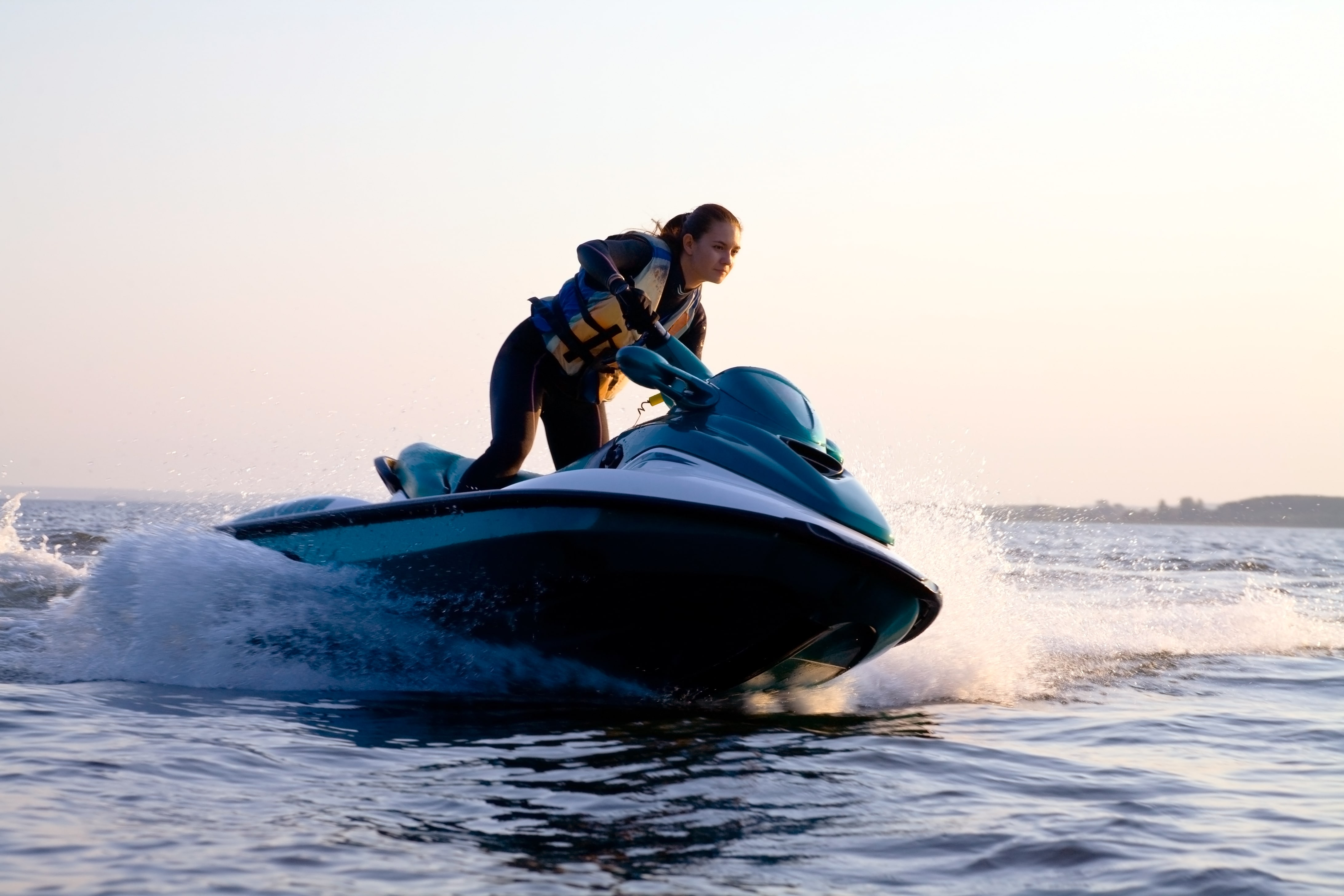 Safety first! Life vest and briefing will be given before you ride your jet ski