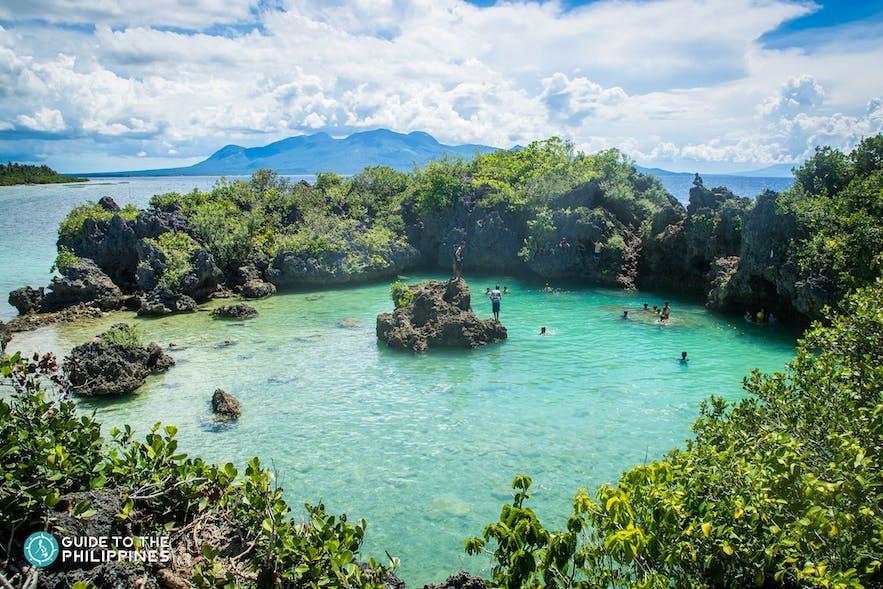Paguriran Island and Lagoon in Sorsogon