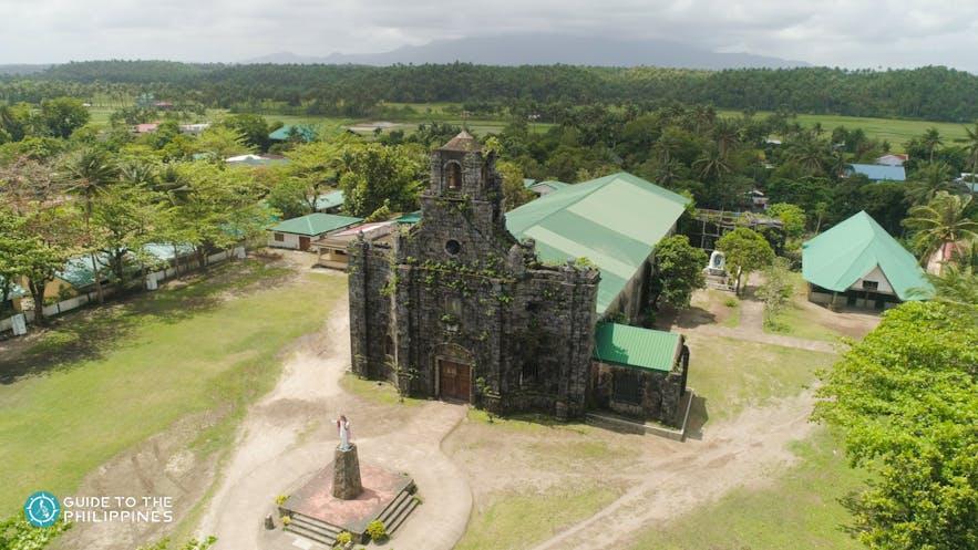 Aerial view of St. Joseph Parish