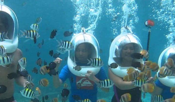 Boracay aquanaut helmet diving