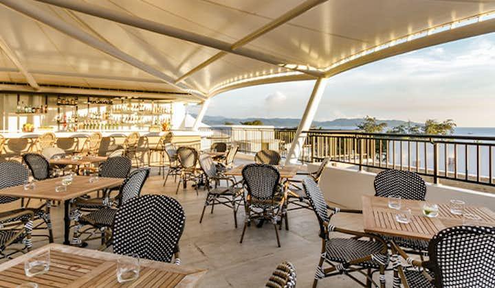 Buenavista Rooftop Bar & Restaurant at Feliz Hotel Boracay