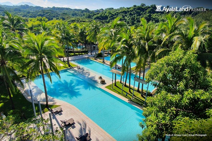 Anvaya Cove Beach Club's pools