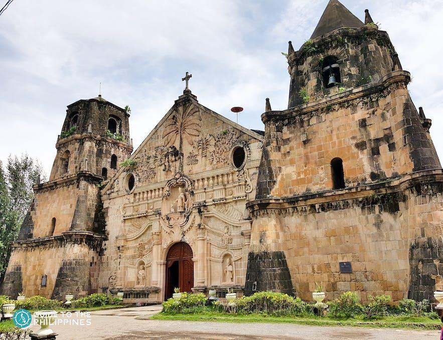 Facade of Miagao Church in Iloilo