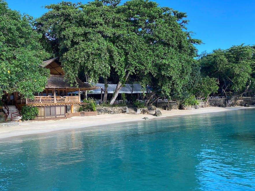 Costa Marina Resort's beachfront