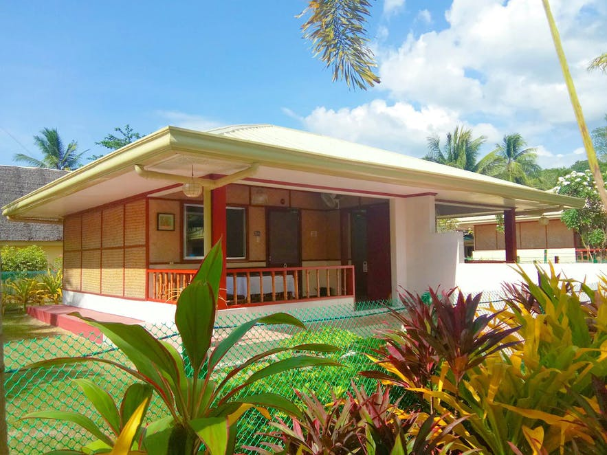 A villa in Paradise Island Beach Resort