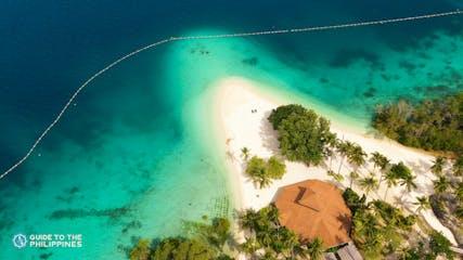 Aerial view of Malipano Island in Samal.jpg
