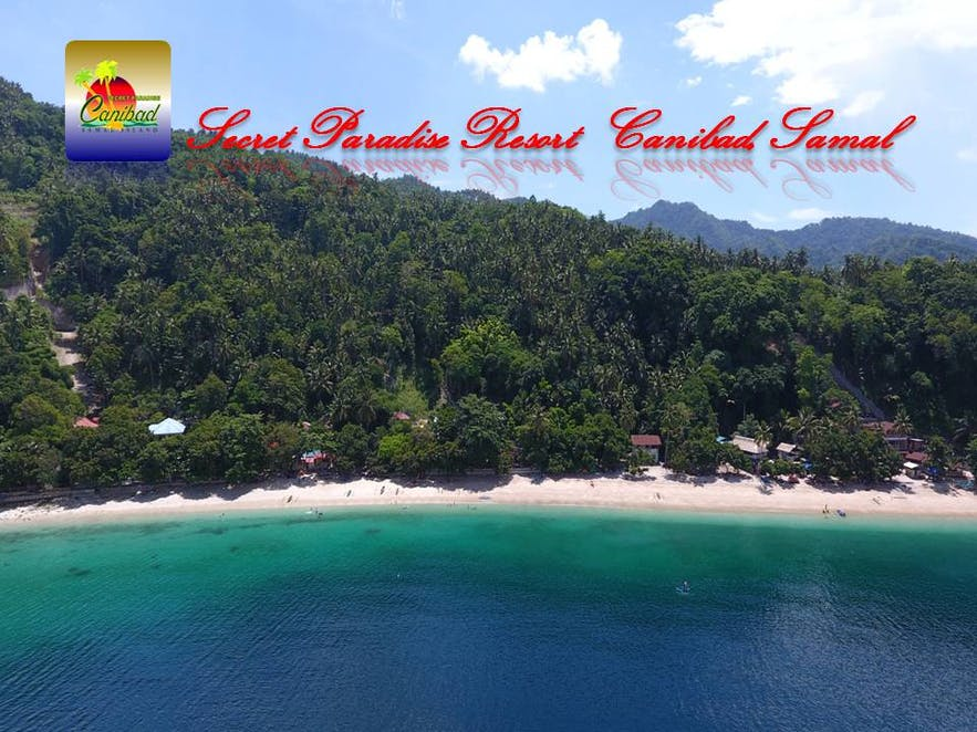Secret Paradise Resort's beachfront