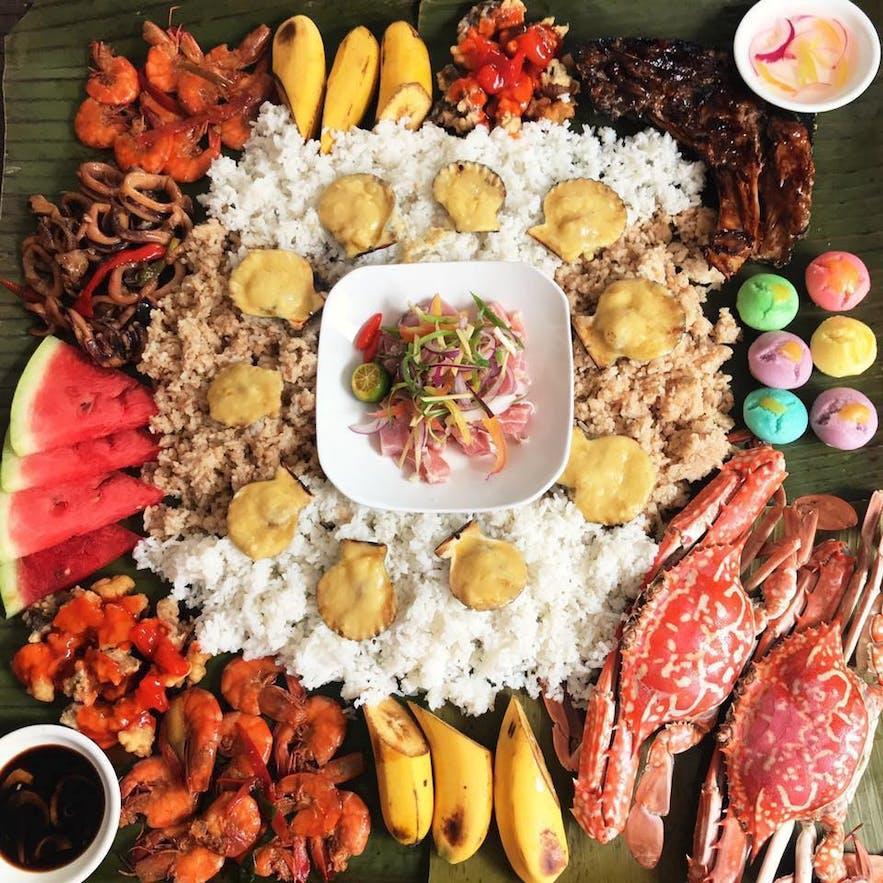 Seafood bundle at TNTS Boodle Fight & Seafood House