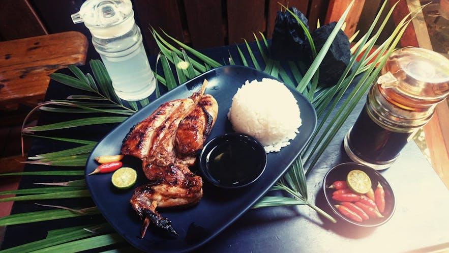 Chicken Ati-Atihan's chicken barbeque