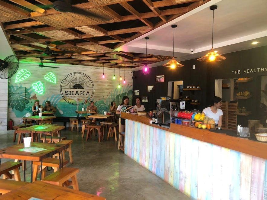 Interior of Shaka Bohol