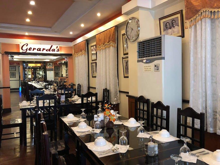Gerarda's Family Restaurant's interior