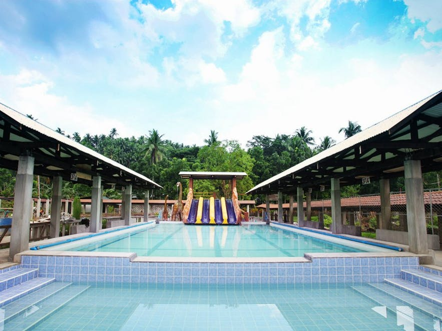 Mainit Hot Spring's main pool