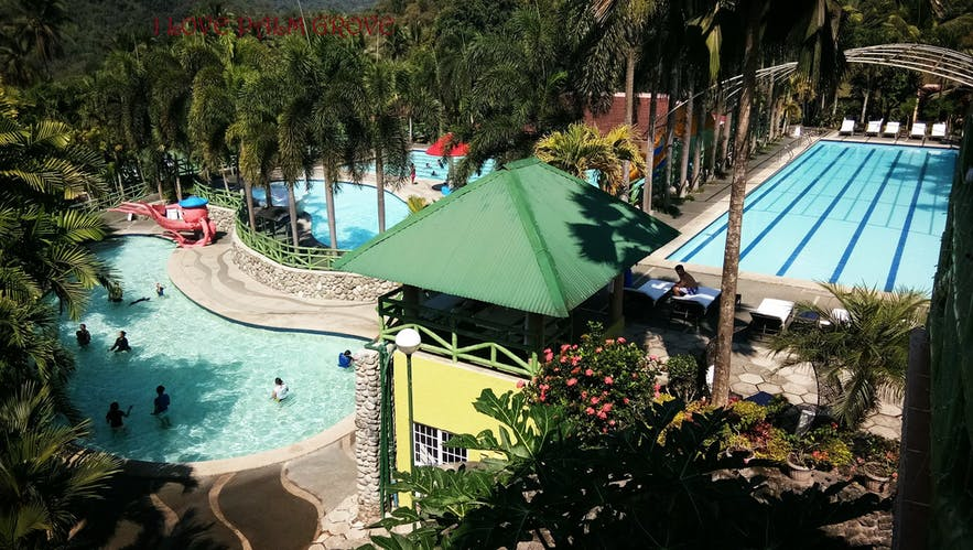 Pools of Palm Grove Hot Springs and Mountain Resort