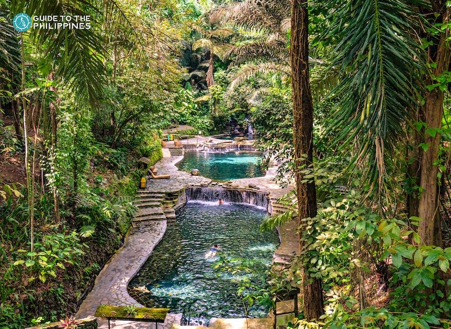 Pools in Hidden Valley Springs Resort, Laguna