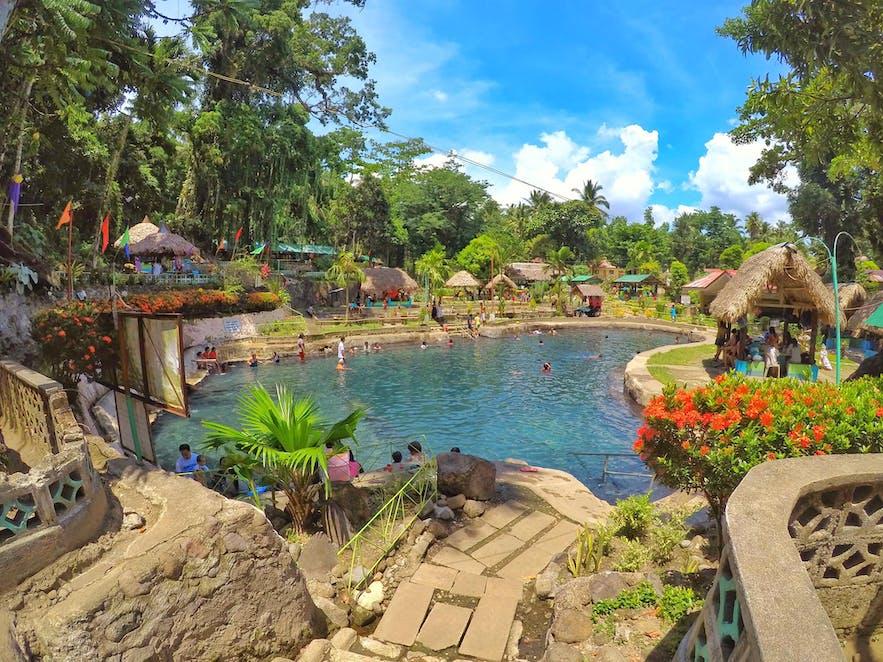 Mateo Hot and Cold Spring Resort's natural pool
