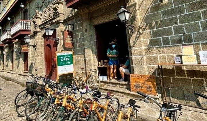 Manila Intramuros Historical Express Tour in Eco-Friendly Bamboo Bikes