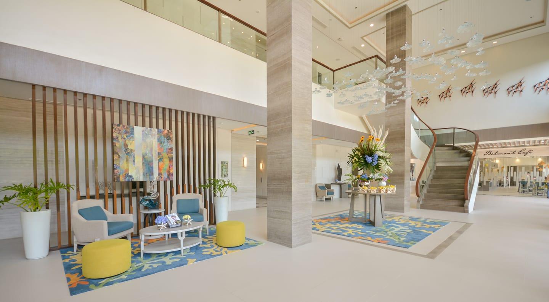 Lobby of Belmont Hotel Boracay