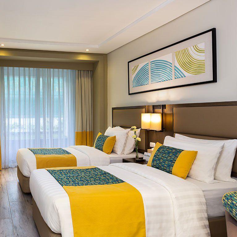 Inside the Deluxe Room of Belmont Hotel Boracay