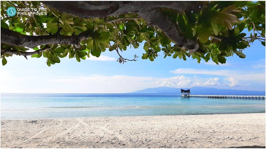 Malamawi Beach in Basilan
