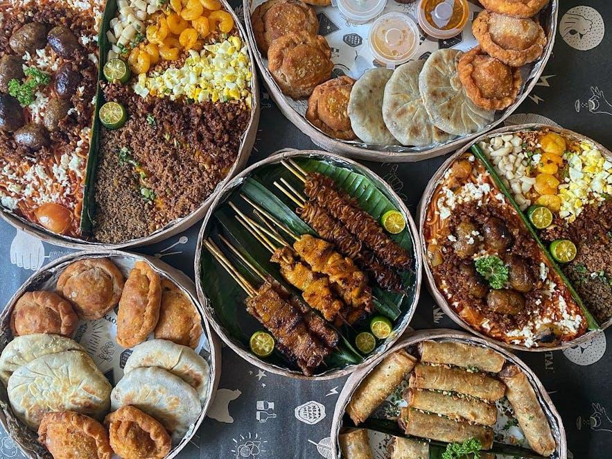 Sarsa Kitchen + Bar's bilao meals