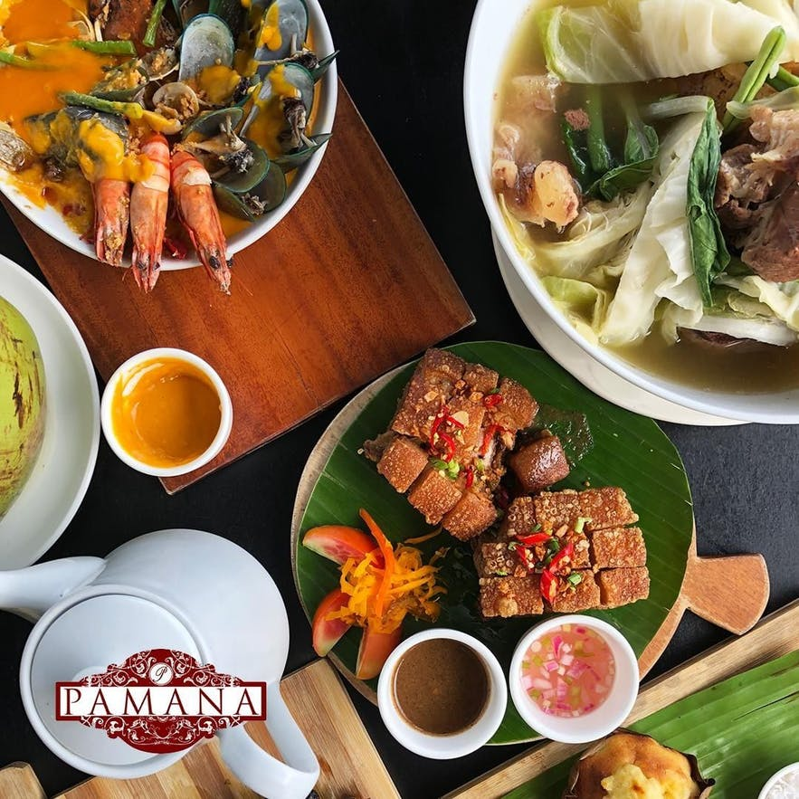 Pamana Restaurant's bagnet and other favorites