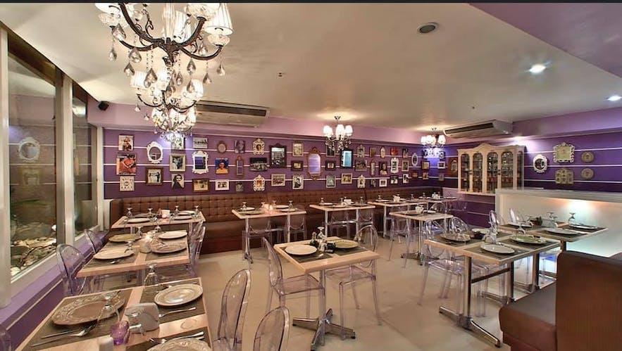 Interior of Pamana Restaurant's Makati City branch