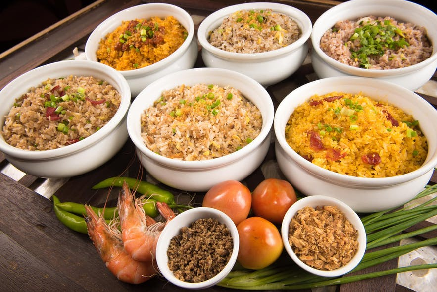 Kanin Club's various rice dishes