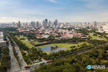 Aerial view of buildings in Manila City.jpg