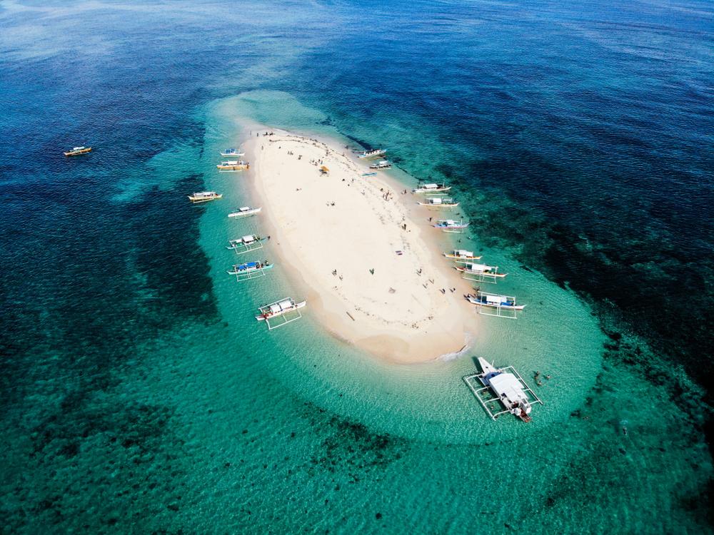Naked Island in Siargao