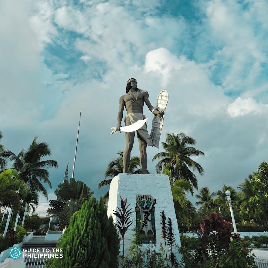 The Lapu-Lapu monument at the Mactan Shrine