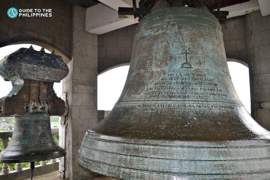 The biggest bell in Santa Monica Parish