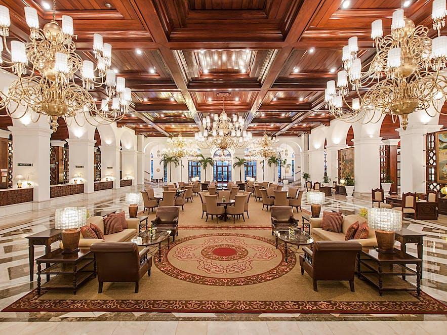Manila Hotel's lobby