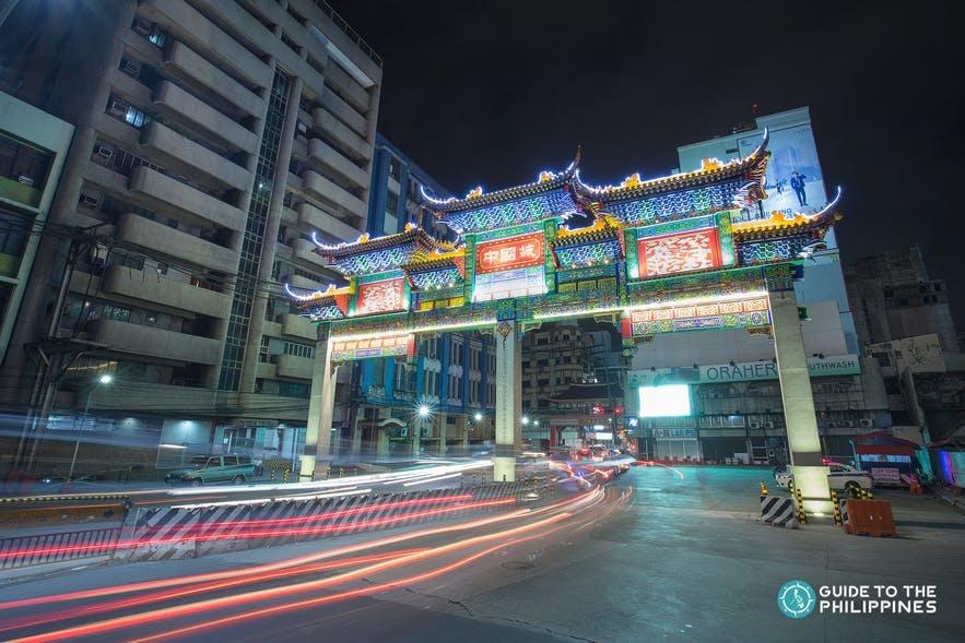 Binondo Arch in Manila