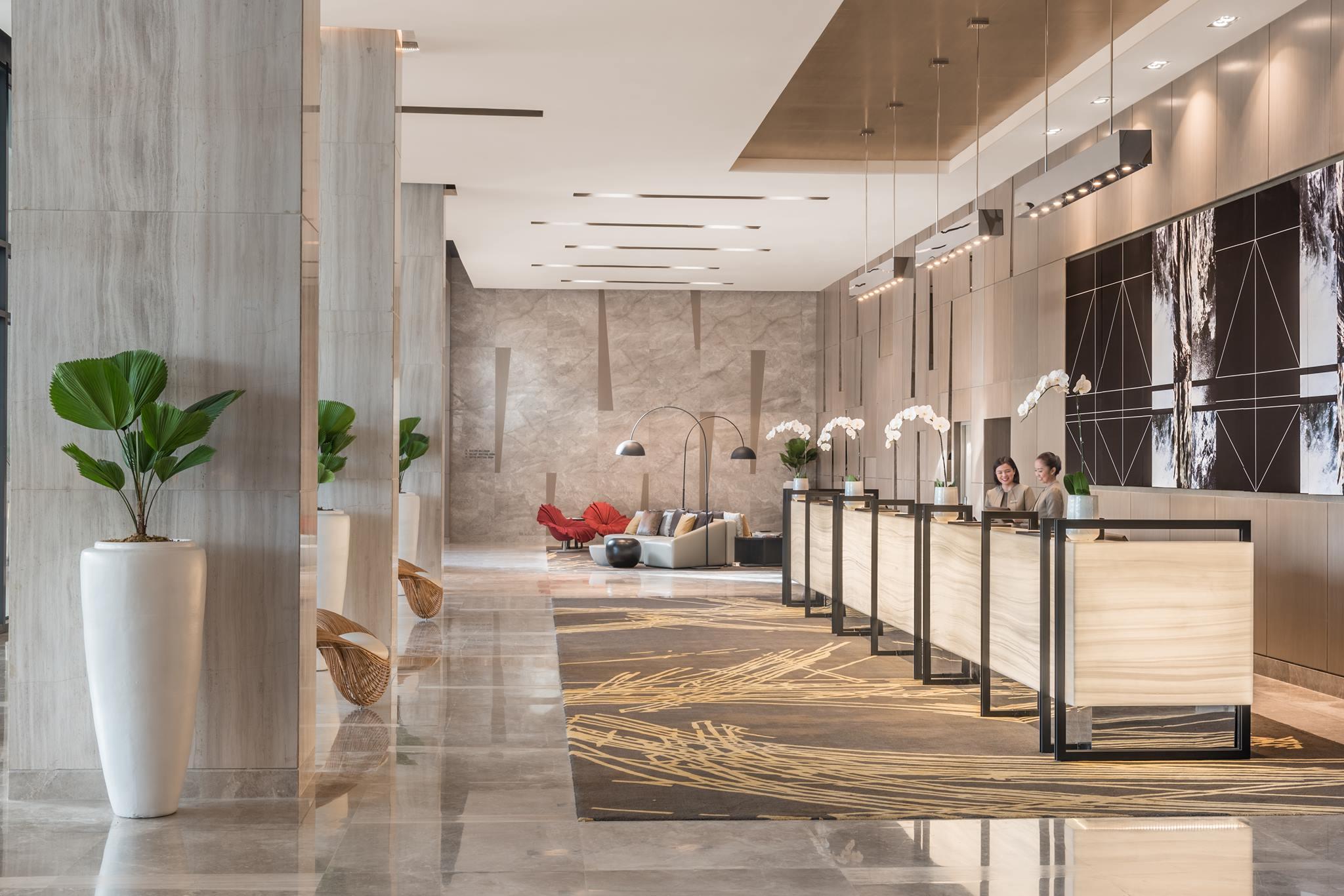 Lobby of Seda Vertis North Hotel