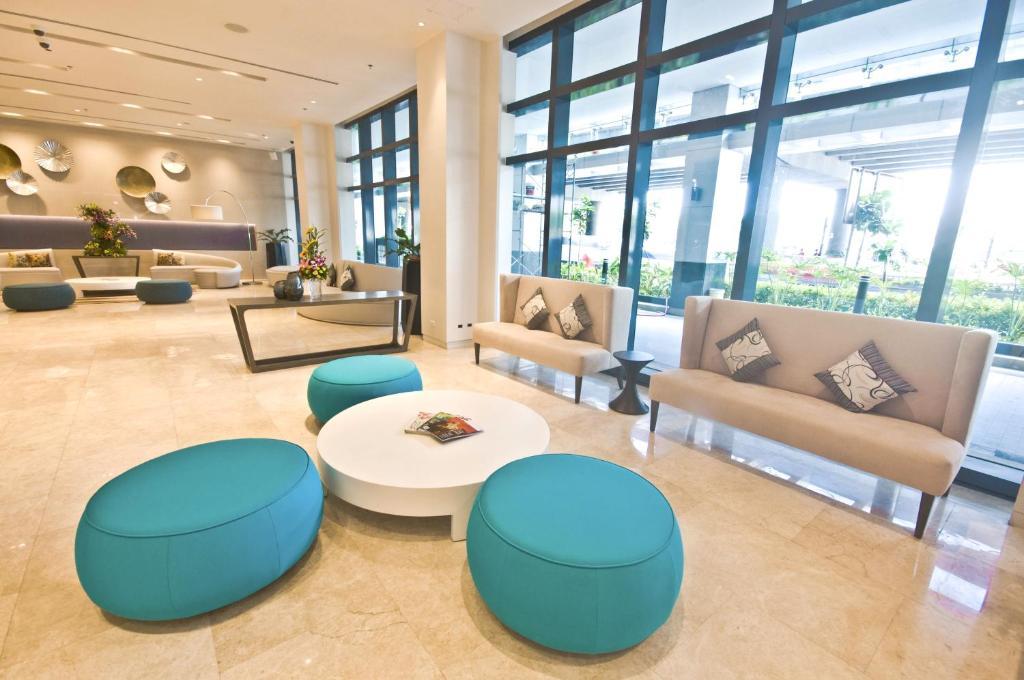 Lobby of Savoy Hotel Manila