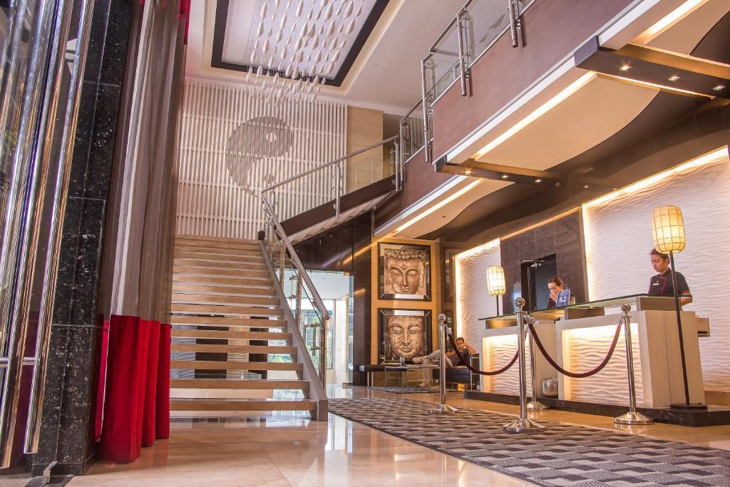 Lobby of Y2 Residence Hotel