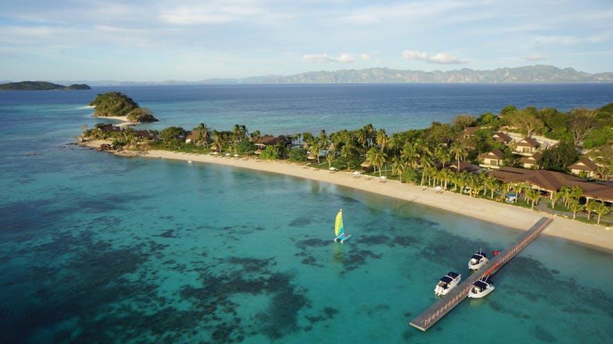 Aerial view of Two Seasons Coron Island Resort & Spa