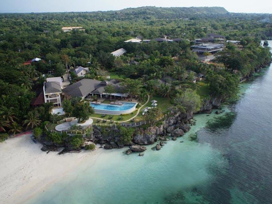 Aerial view of Amorita Resort