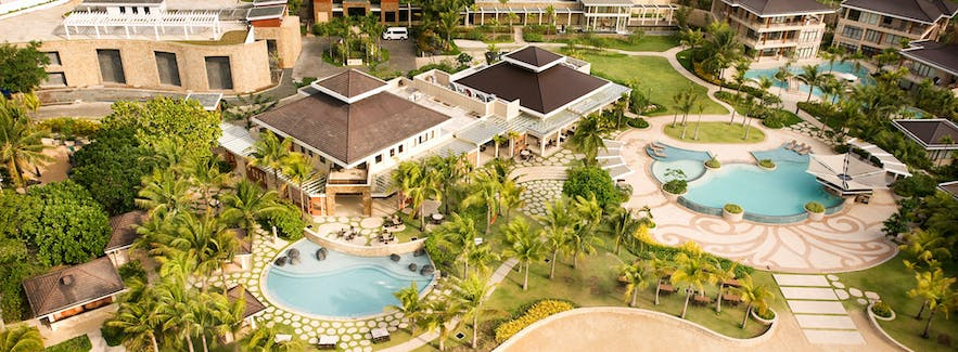 Aerial view of Misibis Bay Resort