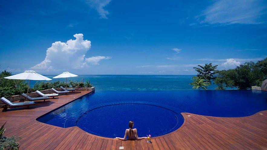 Eskaya Beach Resort & Spa's outdoor pool