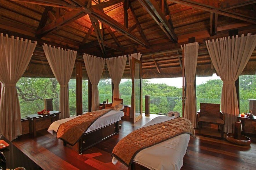Two Seasons Coron Island Resort & Spa's massage beds