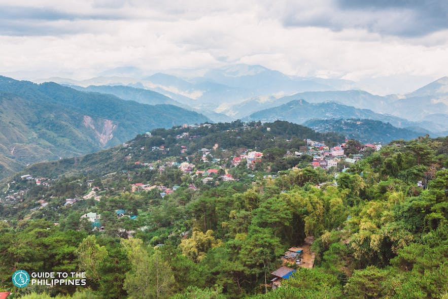 View from Baguio's Mines View Park