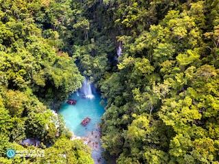 Aerial view of Kawasan Falls.jpg